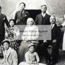 Familia Aguirre Villena, años 30