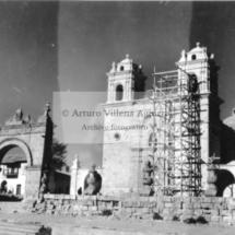 Iglesia de Santo Tomás en restauración