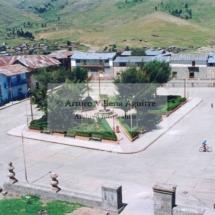 Plaza de Santo Tomás vista desde el campanario del templo.