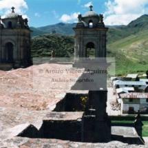 Vista techo del templo de Santo Tomás