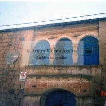Fachada de la casa Aguirre