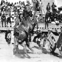 Chumbivilcana en demostración de equitación, 1962