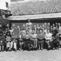 Foto grupal de mestizos chumbivilcanos